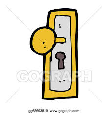 door knobs clipart. Beautiful Door Cartoon Door Knob For Door Knobs Clipart O