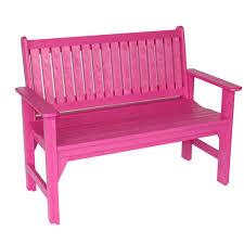 fuschia furniture. Fuchsia Poly Lumber Adirondack Garden Bench Fuschia Furniture