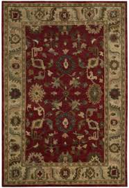 nourison tahoe ta08 red area rug