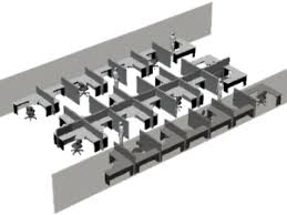 office cubicle design layout. Large Open Space Cubicle Design For MVR Company Office Layout S
