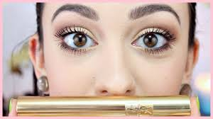 NEW! YSL Volume Effet Faux Cils Mascara Review + Demo - YouTube