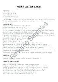 Online Free Resumes Resume Creator Online Srhnf Info