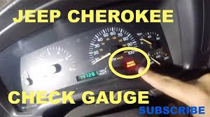 2001 Jeep Grand Cherokee Check Gauges Light Check Gauges Light On Jeep Cherokee