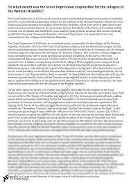 great depression essay year hsc modern history great depression essay 24 25