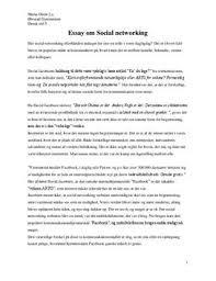 essay om social networking dk essay om social networking