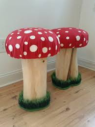 mushroom stool video game theme custom furniture. plain furniture pixiebrook mushroom stool adult sized toadstool chair  seat for  adults    custom made stool intended stool video game theme furniture