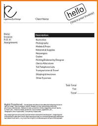 freelance designer description freelancer invoice template 13 free word excel pdf format