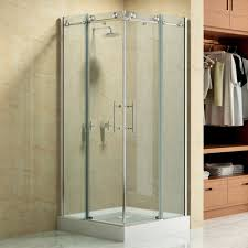 bathroom frameless sliding shower doors home depot bed bath