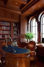 home office library. traditional home office space herscoe hajjar architects naples florida library
