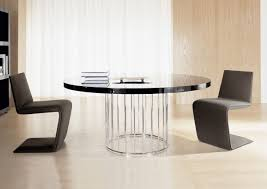round contemporary dining room sets. Lovely Ideas For Dining Room Decoration Using Minotti Table : Elegant Small Round Contemporary Sets