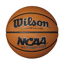 com wilson ncaa street shot basketball intermediate 28 5 youth basketball sports outdoors