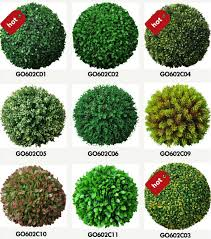 Decorative Boxwood Balls