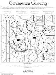 Small Picture Conference coloring page LDS Lesson Ideas