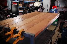 Angle Iron Coffee Table