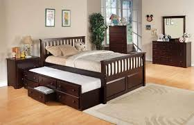 Twin Bed with Storage Drawers for Children Cole Papers Design