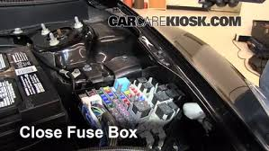 replace a fuse 2009 2013 mazda 6 2012 mazda 6 i 2 5l 4 cyl 6 replace cover secure the cover and test component