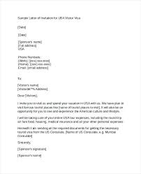 Letter To Consulate For Visitor Visa Sample Covering Letter For