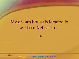 scoring practice think about your dream house it could be  3 my dream house is located in western nebraska 1 6 5 2 20153