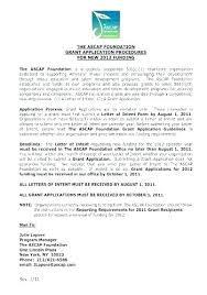 Sample Grant Cover Letter For Travel Application Large Size