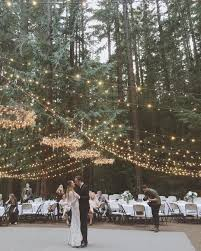 picture of hang string lights and add some chandeliers made with string lights too