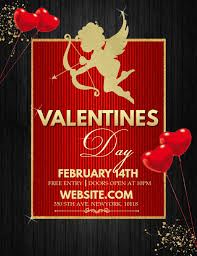 Valentines Flyers Valentines Flyers Event Flyers Party Flyers Template