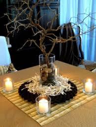 Easy Branch & Candle Centerpiece Idea