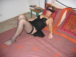 Amateur mature anal blindfold