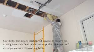 garage ceiling insulation. Wonderful Insulation How Garage Ceiling Insulation Should Actually Be Installed  Dover MA And YouTube