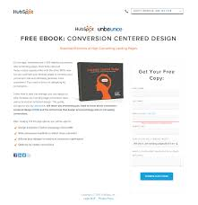 Unbounce Conversion Centered Design Designing High Conversion Landing Pages With Examples