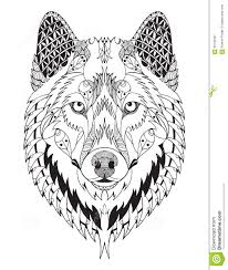 Animaux Dessin Coloriage Animal Tete Loup Dessin Animaux Et Articles Tetedessin De Tete De Loupl L