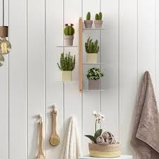 suspended wall mounted plants holder