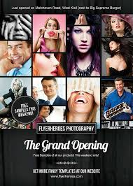 Free Grand Opening Flyer Template Download Free Grand Opening Photography Flyer Template