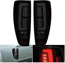 2004 Colorado Brake Light Switch Tube Style Led Tail Lights Brake Stop Lamps Pair For Chevy Colorado Gmc Canyon Dark Smoke