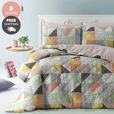 quilted duvet cover. Park Avenue Pinsonic Quilted Quilt Cover Sets Duvet