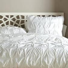 luxury white duvet sets organic cotton pintuck duvet cover shams west elm modern duvet cover sets