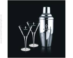 customized sombrero cocktail shaker set with 2 classic glasses fun martini amazing engraved shakers