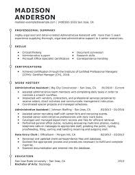 Administrative Assistant Skills Resume Best Administrative Assistant Resume Example Livecareer