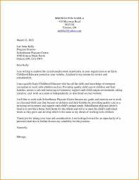 sample of preschool cover letters cover letter early childhood education korest jovenesambientecas co
