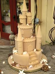 Sand Castle Wedding Cake Photo 1 Wedding Ideas In 2019 Castle