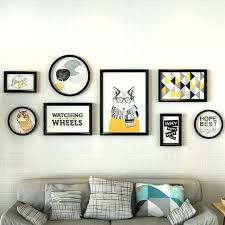 black picture frames wall. Plain Black Collage  To Black Picture Frames Wall