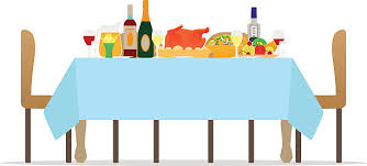 dinner table clipart. Brilliant Clipart Royalty Free Banquet Clip Art Throughout Dinner Table Clipart R