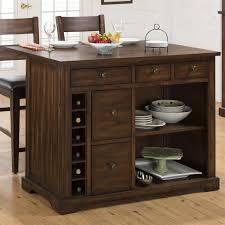 Drop Leaf Kitchen Island Table Jofran 581 48 Kitchen Island With Expandable Drop Leaf Table Top