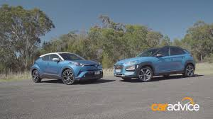 Hyundai Kona vs. Toyota C-HR: Which is the Funkiest Crossover ...