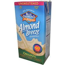 blue diamond almond breeze almond milk original unsweetened 64 fl oz