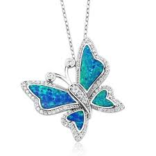 sterling silver erfly created pendant