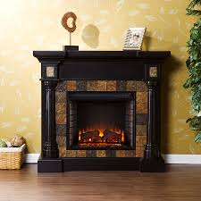 image of electric fireplace tv stand