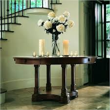 grand foyer round table decoration tables decor