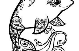 Small Picture cute animal coloring pages for girls dolphins and dogs on same