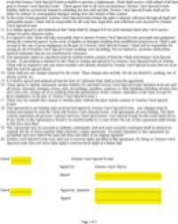 event planner sample contract page 2 event planning contract templates