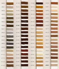 Soie D Alger Colour Chart Au Ver A Soie Soie Dalger Various Threads Silk